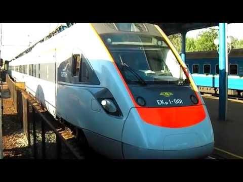 ЭКр1-001 отправляется со станции Винница.