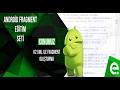 2 XML ile Fragment Oluşturma | Android Fragment Eğitim Seti