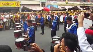 preview picture of video 'Quiapo 2015 - (Knights of Tuktukan Drumline)'