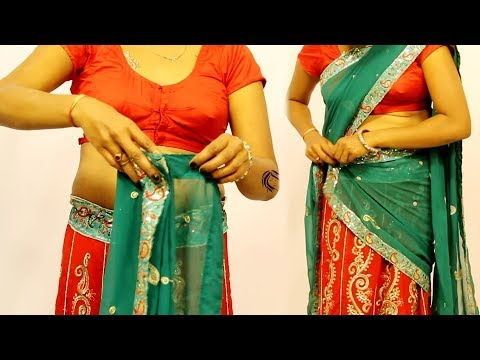 How To Wear A Half Saree And Look Stunning | New Look Mp3