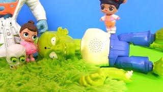 Куклы Лол Сюрприз против Монстров! Волшебная Энергия Мультик Lol Surprise Dolls Видео для детей