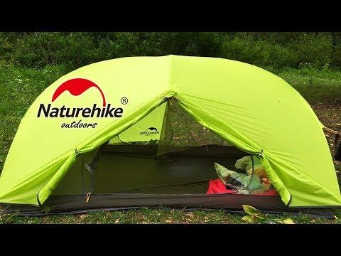 ТОВАРЫ ДЛЯ ТУРИЗМА С Aliexpress   Ультралегкая палатка Naturehike Mongar 2