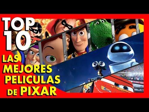 Las 10 mejores películas de PIXAR  - Top Ten #57 | Popcorn News