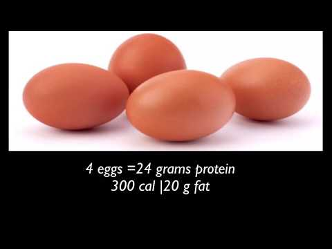 Top 10 high food in protein levels | with count calories and protein