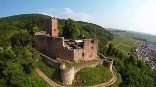 preview picture of video 'Klingenmünster - Burg Landeck'