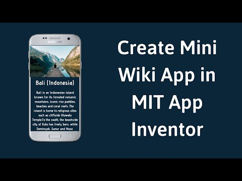 How to use List Picker and Create Mini Wiki App in MIT App Inventor