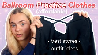 Where To Buy Ballroom Dance Practice Wear & My Practice Outfits