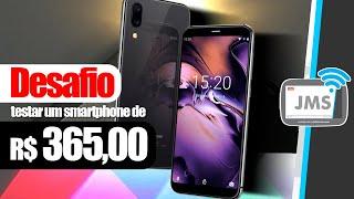 DESAFIO Testar um Smartphone Barato de Apenas R$ 365