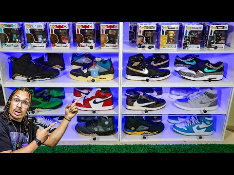This New SNEAKER THRONE 2.0 Shoe Display Case Is Next Level!