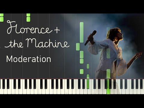 Florence + The Machine - Moderation (Piano Sheet Music)