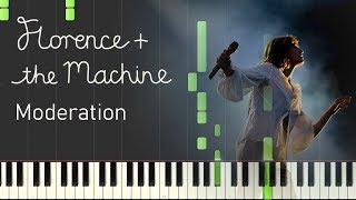 Gambar cover Florence + The Machine - Moderation (Piano Sheet Music)