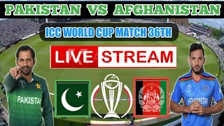 live cricket match today pakistan vs afghanistan world cup