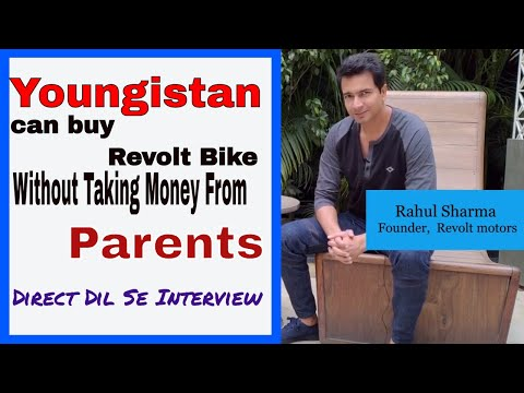 Youngistan can buy Revolt eBike without taking money from Parents: Rahul Sharma