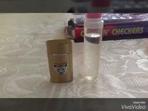 Como recargar tu encendedor con gas butano para cualquiera ( how to recharge your cigarette lighter)