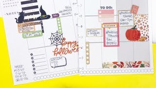 Plan With Me: October 28-November 4, 2018 [Create 365 The Happy Planner® How To]