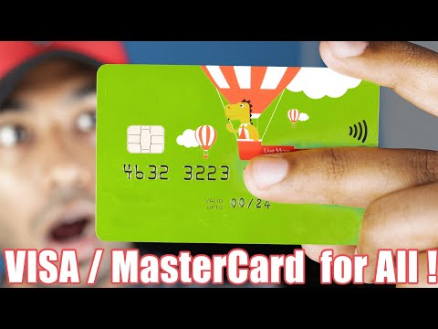 , title : 'How to get a FREE VISA / Master Card - Top 10 International Cards For All Countries #2 | Pt. 2
