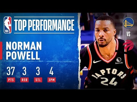 Powell Sets CAREER-HIGH 37 PTS In Road W!