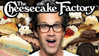We Tried EVERY Cheesecake Factory Cheesecake