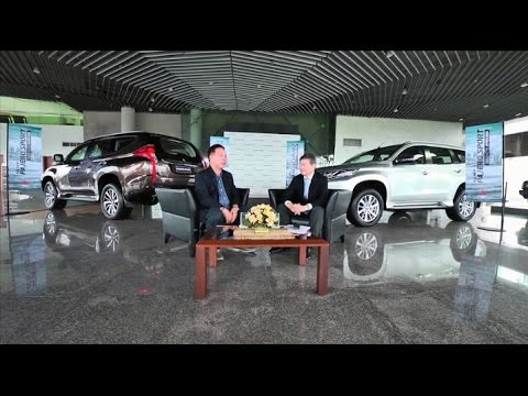 Exclusive Interview Mr. Morikazu Chokki, President and CEO of Mitsubishi Motors Thailand about All New Pajero Sport by Auto Story