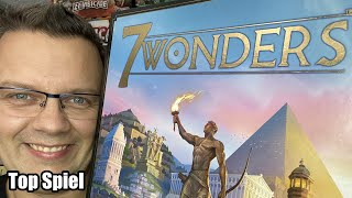 Top Spiele von Jörg Teil 8: 7 Wonders (Repos / asmodee)