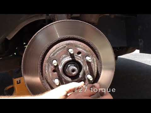 2006 Chevy Uplander Front Wheel Bearing Replacement Car Repair Tutorial