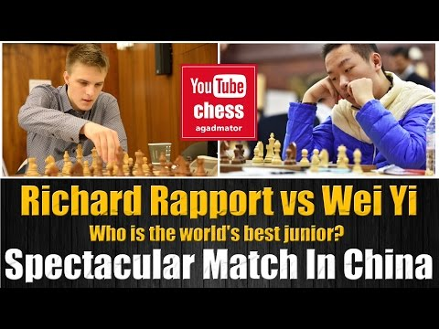 Download Richard Rapport vs Wei Yi    Spectacular Match In China   20 Dec 2016 Mp4 HD Video and MP3
