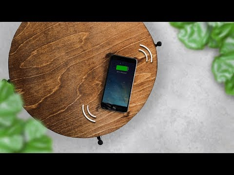 How to Build a Wireless Phone Charging Table (Ikea Hack)