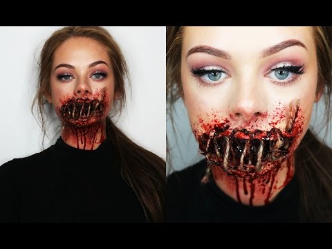 SEWED SHUT MOUTH - SFX Makeup
