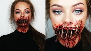 SEWED SHUT MOUTH - SFX Makeup