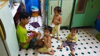 Vợ bỏ, thanh niên 31 tuổi đi phụ hồ kiếm tiền nuôi 3 con thơ và mẹ già tai biến
