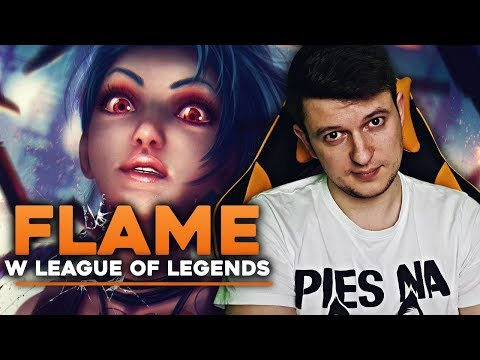 FLAME W LEAGUE OF LEGENDS | Jinx
