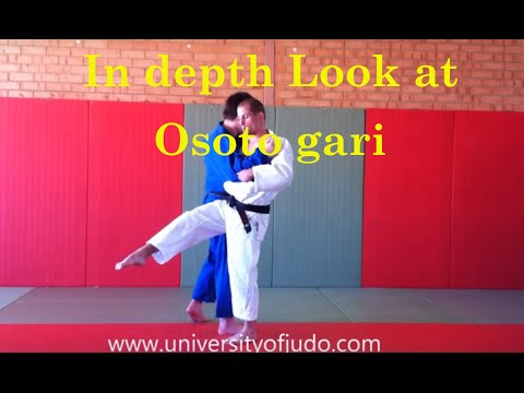 An in depth overview of Osoto Gari