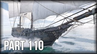 Assassin's Creed III Remastered - 100% Walkthrough Part 110 [PS4 Pro] Naval Mission: Blistering Dawn