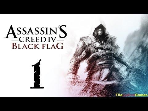 Прохождение Assassin's Creed IV 4: Black Flag [Чёрный флаг] 100% Sync - Часть 1 (Ожившая история!)