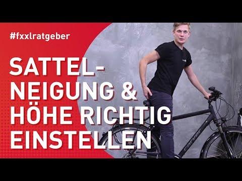Fahrradsattel richtig einstellen: Höhe & Neigung in perfekter Position