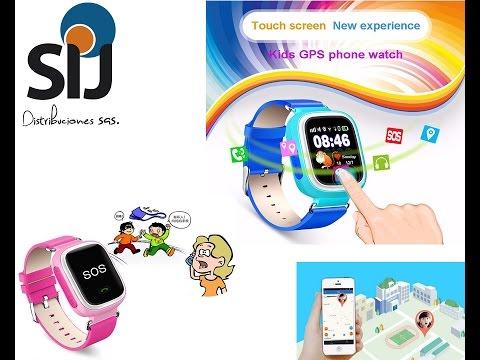 Review Reloj Localizador Para Niños Q90 Gsm Smartwatch