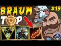 Bruiser Braum TOP with Press the Attack Trinity Force Sterak 39 s Gage Iron IV to Diamond Ep 19