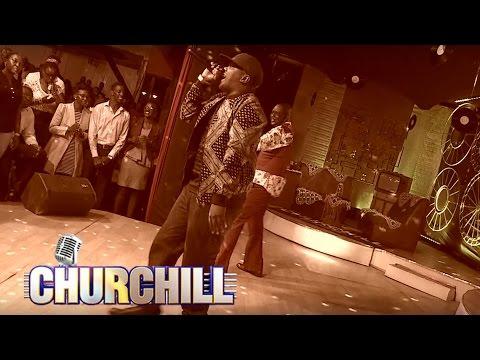AY Performs Zigo On Churchill Show