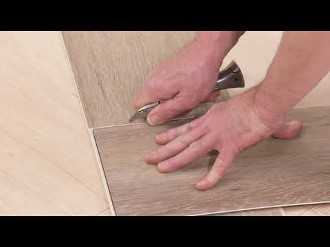 Karndean How To Series...Cutting and fitting a plank to a wall - Rigid core 5G
