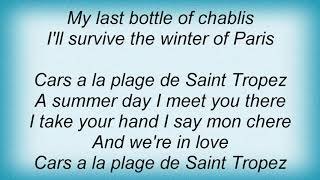Army Of Lovers - La Plage De Saint Tropez Lyrics