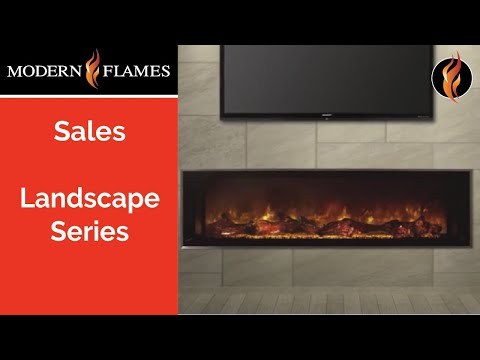 Modern Flames Landscape Fullview Electric Fireplace