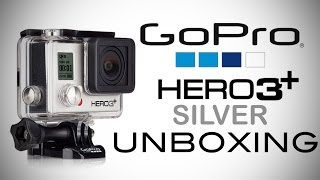GoPro HERO3+ Silver Edition Unboxing!