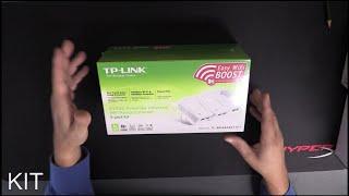 TP-Link TL-WPA4226T KIT - WLAN Powerline-Netzwerkadapter