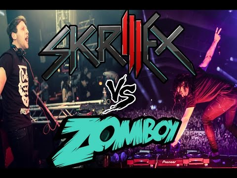 SKRILLEX vs ZOMBOY - SNOWER GOD