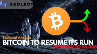Bitcoin Bull Run to Resume or $6,000 Again? Crypto Trading Bot - HodlBot.io
