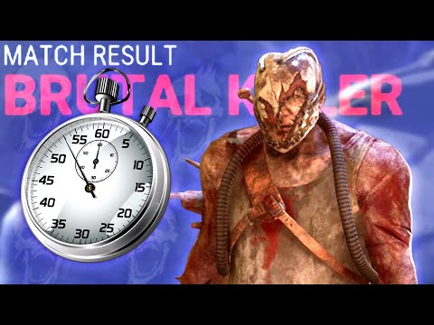 Brutally Efficient Trapper Game | Dead by Daylight