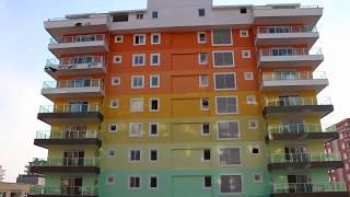 New complex Sonas City Residens, Mahmutlar, Alanya, Turkey