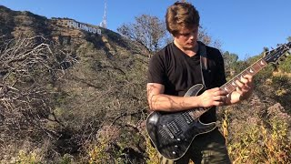 Marshmello - Silence ft. Khalid (Illenium Remix) Zac McCoy (Guitar Remix) Hollywood Sign Music Video
