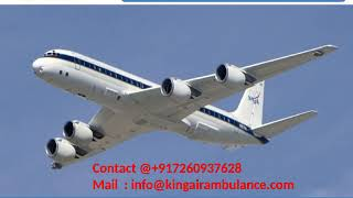 Best King Air Ambulance Services in Bangalore and Chennai