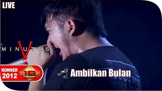 Live Konser ~ Five Minutes - Ambilkan Bulan @Cirebon, 27 Oktober 2012